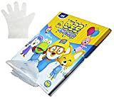 PORORO LATEX-FREE DISPOSABLE Gloves for Kids 1 Pack 30 Count (Pack of 50)
