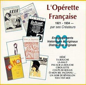 L'Operette Francaise 1921-34