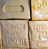Savon de Marseille (Marseille Soap) pure Palm oil soap from France