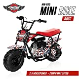 Monster Moto - Gas Mini Bike - 80CC/2.5HP (MM-B80-AF)(American Flag)