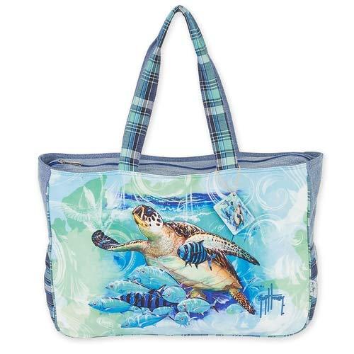 Guy Turtle Harvey - Sun N Sand, Guy Harvey Oversized Tote Bag TURTLE N