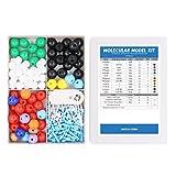 Swpeet 200 Pcs Molecular Model Kit for Organic and