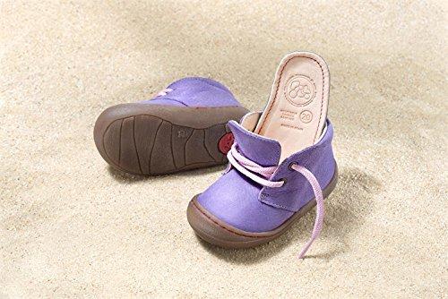 Pololo Baby/Kinder-Schuhe Lauflernschuhe Juan Lila (23)