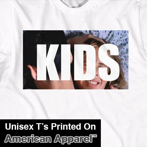 Kids 1995 Movie T-Shirt - retro film, telly, casper, 90s