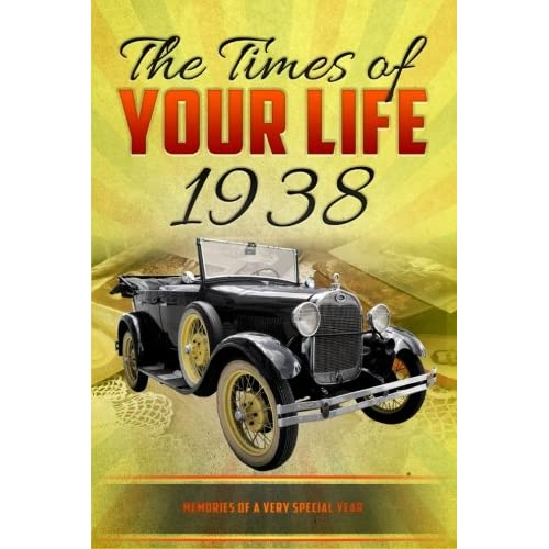 The Times Of Your Life 1938 Born In Unique Birthday Gift Or Anniversary