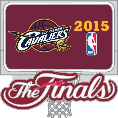 (Cleveland Cavaliers 2015 NBA Finals Pin)