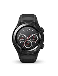 Huawei Watch 2 Sport 4GB IP68 Smartwatch (Carbon Black) - International Version