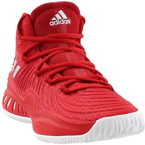 adidas Crazy Explosive 2017 Shoe - Men s Basketball 9 Scarlet White Scarlet 1f9ad8f56
