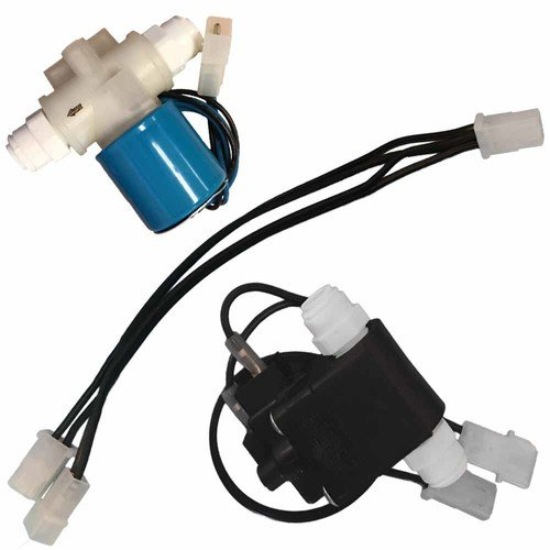 (AFWFilters PMP Shutoff Switch Kit for Aquatec Booster Pumps (includes ESO, TSO, Wiring Harness) Black Blue White)