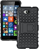 Zokney Microsoft Lumia 650 Back Cover Dual Layer Protection Rugged Armor Case For Lumia 650 Cover Pouch With Stand Feature