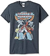 Transformers Men's Vintage Groupshot T-Shirt