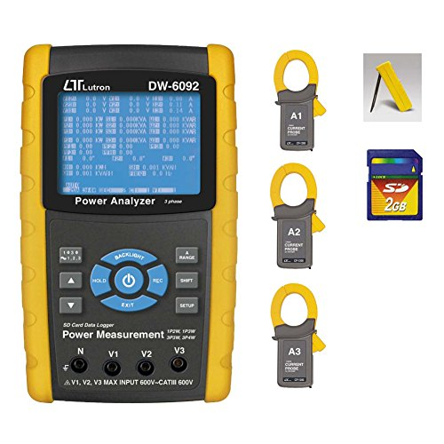Lutron 3 Phase Power Analyzer DW-6092