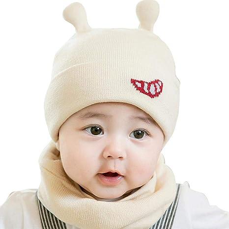 AOLVO Baby Cappello Sciarpa Set 9a2207408d9c