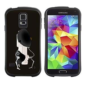 Suave TPU GEL Carcasa Funda Silicona Blando Estuche Caso de protección (para) Samsung Galaxy S5 / CECELL Phone case / / Abstract Robot /