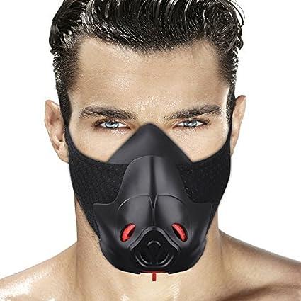 ejercicio físico FDBRO máscara deportiva para correr elevación de