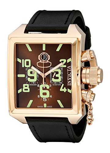 Invicta Men's 7186 Signature Collection Russian Diver 18k Rose Gold-Plated Chronograph Watch ()
