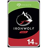Seagate IronWolf 14TB NAS Internal Hard Drive HDD – CMR 3.5 Inch SATA 256MB Cache for RAID Network Attached Storage…