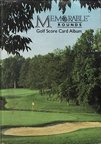 Memorable Rounds Golf Score Card Album (Ltd Albums)