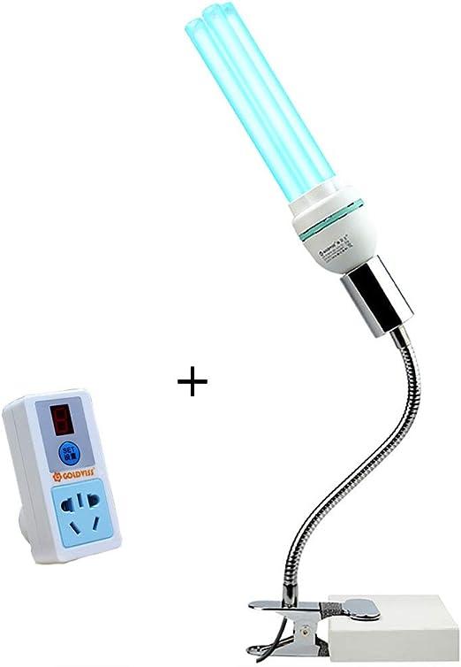 Lámpara Ultravioleta Germicida Lámpara De Desinfección UV Luz LED ...