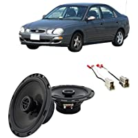Fits Kia Spectra 2000-2009 Front Door Factory Replacement Harmony HA-R65 Speakers New