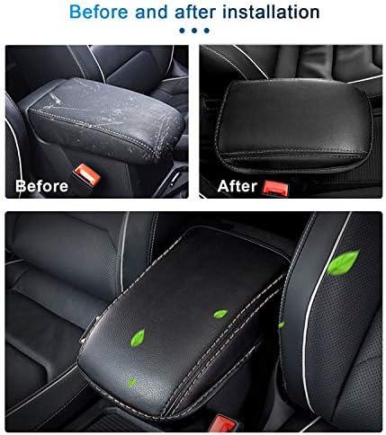 Mittelarmlehne Abdeckung Für Tiguan Armlehnen Box Mittelkonsole Schutz Kastendeckel Beige Auto
