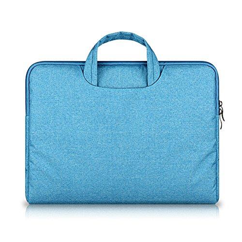 Funda Protectora Multifunción Para Portátil Maletín Bolso Para Laptops / Notebook Ultrabook / Macbook Lake Blue