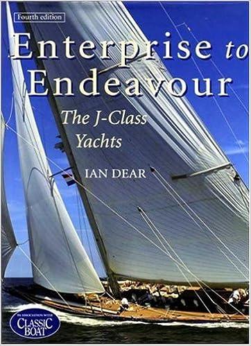 Book Enterprise to Endeavour: The J-Class Yachts