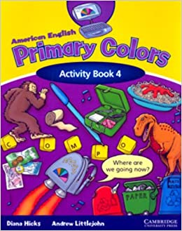 american english primary colors 4 activity book primary colours - Primary Colors Book
