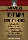 Front cover for the book The Just Men of Cordova by Edgar Wallace