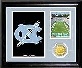 NCAA North Carolina Tar Heels Fan Memories Desktop Photomint, 22'' x 15'' x 4'', Bronze