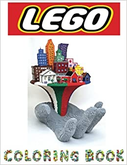 Lego Coloring Book In This Childrens There Are Images To Color From The Movie Heroes And Villains Minifigures