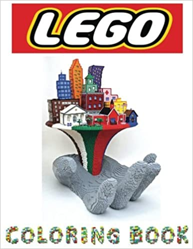 Lego Coloring book: In this Childrens Coloring Book there are images ...