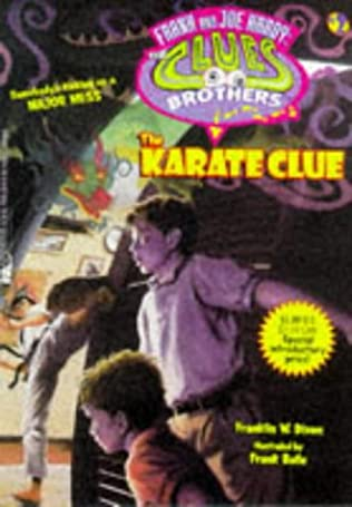 book cover of The Karate Clue