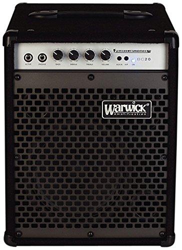 - Warwick BC20 20W 1x8 Bass Combo w/2