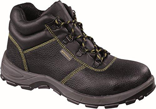 Delta Plus Schuhe–Leder Stiefel Serraje Gargas schwarz Größe 42