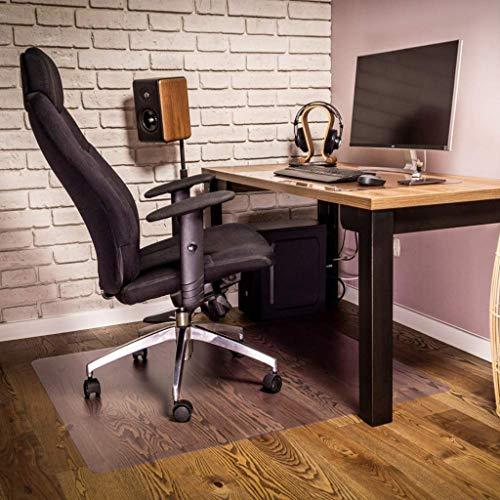 3,0 mm tjock ingen plast lukt klar skrivbordsskyddsplatta – vattentät luktfri bordsskydd rektangel vinyl bordsskydd PVC skrivbordsmatta (storlek: 85 x 135 cm)