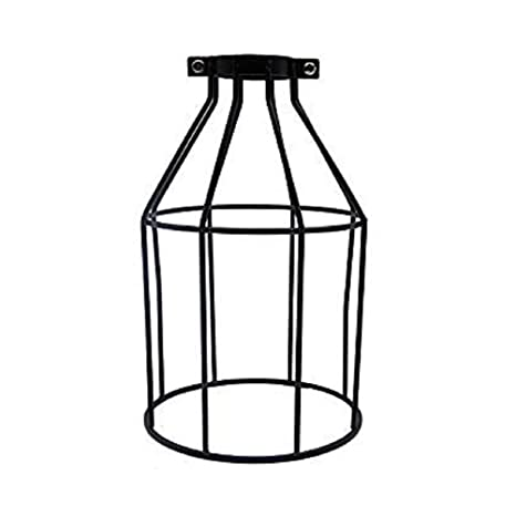 Uonlytech - Pantalla de metal para lámpara de jaula, diseño de ...