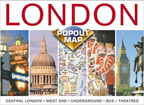 London Uk Popout Maps Map Group 9781841392547 Amazon Com Books
