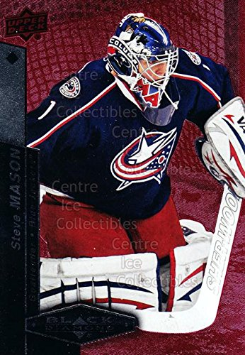 (CI) Steve Mason Hockey Card 2010-11 Black Diamond Ruby 12 Steve - Lightweight Diamondback Jacket