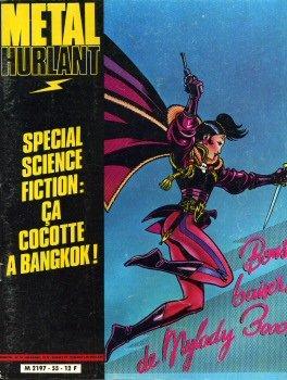 Five Cocottes (Métal Hurlant n° 55 - couverture Magnus - Spécial science-fiction : Ça cocotte à Bangkok !)