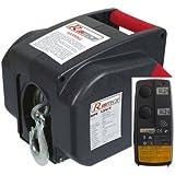 Treuil electrique 12 V avant/arriere avec télécommande sans fil REF RIPE12VT