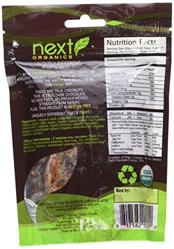 Next Organics Chocolate Covered Fruit Coconut Dark O, 4 oz by Next Organics (Image #4)