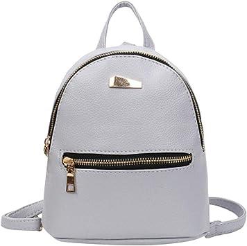 Women Girls Leather Backpack Travel Rucksack School Shoulder Bag Satchel
