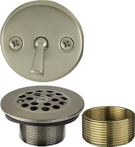 1-1/2 inch x 1-3/8 inch Trip Lever Bath Waste Trim (Tub Drain and Faceplate)