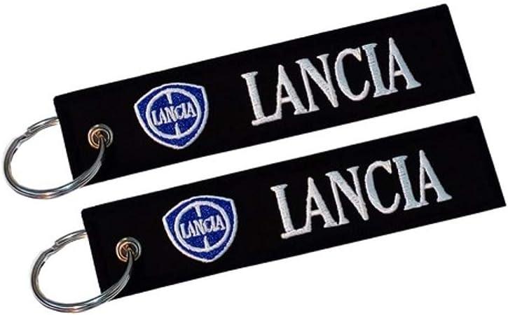 Lancia Doppelseitiger Schlüsselanhänger 1 Stück Auto
