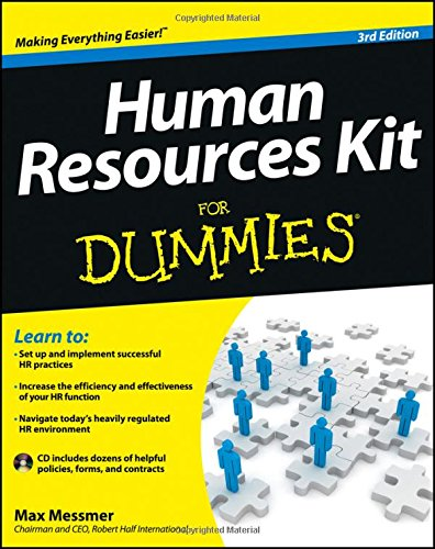 Human Resources Kit For - Blue Door Dummy