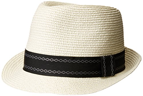 Home Prefer Men s Straw Trilby Fedora Hat Short Brim Panama Resort Hat 1d5913be399f