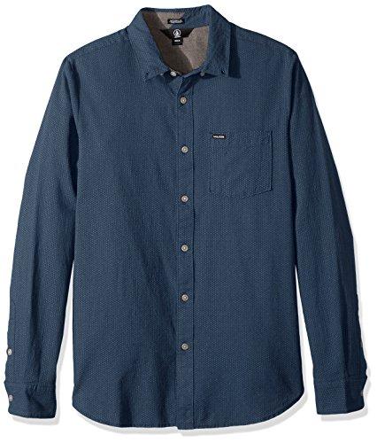 Volcom Dot (Volcom Men's Micro Dot Long Sleeve Shirt, SMB, S)