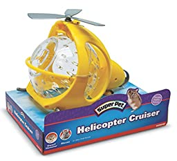 Super Pet Helicopter Cruiser for Mice and Dwarf Hamster, Colors May Vary
