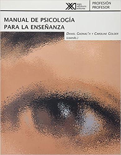 Livres gratuits téléchargement gratuit Manual de psicologia para la ensenanza (Spanish Edition) en français PDF CHM ePub